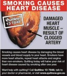 Australia 2012 Health Effects Heart - diseased organ back