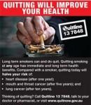 Australia 2012 Quitting - improve health back