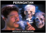 2014 Indonesia Health Effects death - symbolic, skull