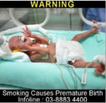 Malaysia 2014 ETS Baby - premature birth, targets parents (back)
