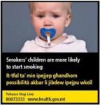 Malta 2016 ETS child - baby, targets parents