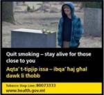 Malta 2016 Health Effects Death - motivation to quit - set 3