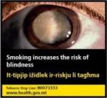 Malta 2016 Health Effects eye - blindness -set 3