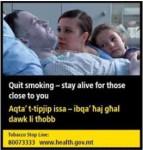 Malta 2016 Quitting - motivation to quit, family