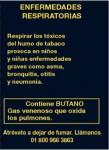 Mexico 2011 ETS children - harmful for children, asthma (back)