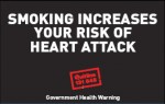 Aussie 2002 Health Effects heart - heart attack plain warning