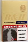 Benson & Hedges Gold Blue (India Nov 10) - Right side angle